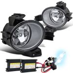HID Xenon + Winjet 2005-2006 Nissan Altima OEM Style Fog Lights - (Clear) - (Wiring Kit Included)