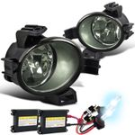 HID Xenon + 05-06 Nissan Altima Clear Fog Lights Driving Bumper Lamps+Switch Left+Right
