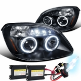 2005-2010 Chevy Cobalt Angel Eye Halo & LED Projector
