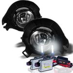 HID Xenon + Winjet 05-11 Nissan Frontier / Pathfinder OEM Style Fog Lights - Clear