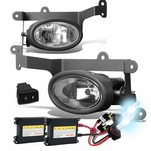 HID Xenon + 06-08 Honda Civic 2-Door Coupe Fog Lights Kit - Clear