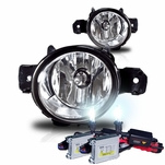 HID Xenon + 07-08 BMW X5 E70 OEM Style Replacement Fog Lights - Clear