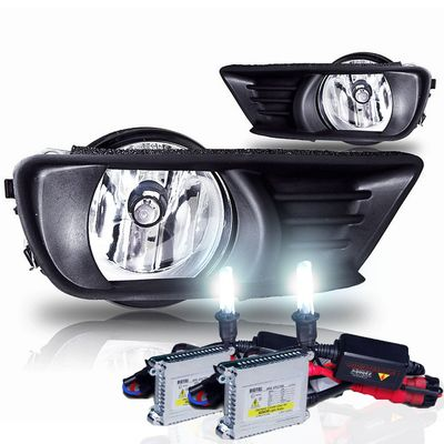 HID Xenon + 07-09 Toyota Camry OEM Style Replacement Fog Lights Kit - Clear