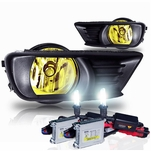 HID Xenon + 07-09 Toyota Camry OEM Style Replacement Fog Lights Kit - Yellow