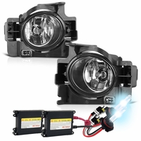 HID Xenon + 08-12 Nissan Altima 2DR Coupe OEM Style Fog Lights - Clear