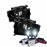 HID Xenon + 08-12 Nissan Altima 2DR Coupe OEM Style Fog Lights - Smoked