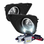 HID Combo 13-14 Honda Accord Coupe OEM Style Fog Lights Kit - Clear