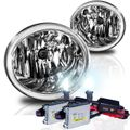 HID Combo 03-06 Toyota Tundra / Sequoia OEM Style Replacement Fog Lights - Clear