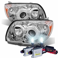 HID Xenon + 2006-2009 Toyota 4Runner [Non Sport Only] Projector Headlights - Chrome