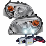 HID Combo 2006-2011 Chevy HHR Replacement Crystal Headlights - Chrome