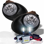HID Xenon + 2007-2013 Toyota Tundra (Chrome Bumper Only) OEM Style Replacement Fog Lights Kit - Clear