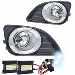 HID Combo 2010-2011 Toyota Camry OEM Style Clear Fog Lights Kit