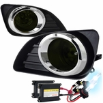 HID Combo 2010-2011 Toyota Camry OEM Style Smoked Fog Lights Kit