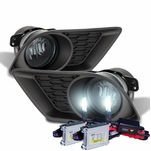 HID Combo 2011-2013 Dodge Charger OEM Style Fog Lights - Smoked