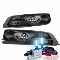 HID Xenon + 2012-2013 Honda Civic 2DR Coupe Factory Style Fog Lights - Clear