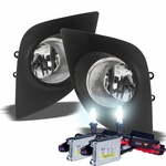 HID Xenon + Winjet 2014-2015 Toyota Corolla Fog Lights [Wiring Kit Included] - Clear