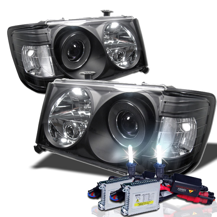 86-93 Mercedes Benz W124 E-Class 1-PC Projector Headlights +