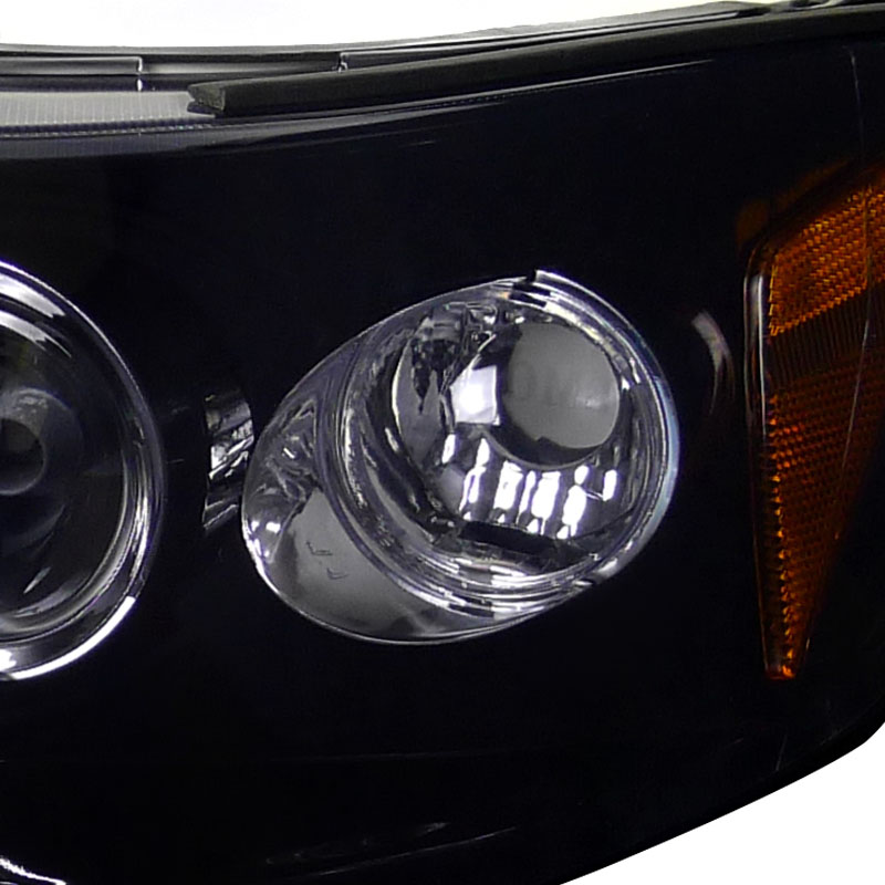 Spec-D 98-02 Honda Accord Angel Eye Halo Led Proiettore Fari - Lucido-8992