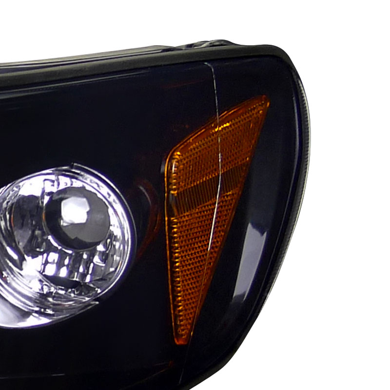 Spec-D 98-02 Honda Accord Angel Eye Halo Led Proiettore Fari - Lucido-2757