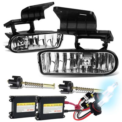 HID Xenon + 99-06 Chevy Silverado / Suburban / Tahoe / Escalade OEM Replacement Fog Lights - Clear