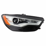 [HID/Xenon w/o AFS Model] 2012-2015 Audi A6 S6 LED DRL Projector Headlight Passenger Side