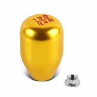 Honda / Acura Civic/Del Sol/CRX/Integra Racing Manual 5-Speed Shift Knob (Gold)
