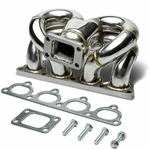 DNA Honda Acura D-Series D15 D16 T3 Stainless Turbo Manifold Exhaust