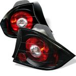 Spyder Honda Civic 01-03 2Dr JDM Altezza Tail Lights - Black