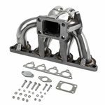 Honda D-Series D15 D16 T3 / T4 Stainless Turbo Manifold + Waste Gate Flange
