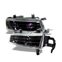 Spyder Honda Prelude 92-96 Projector Headlights - Black