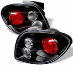 Hyundai Tiburon 00-02 Altezza Tail Lights - Black ALT-YD-HYT00-BK By Spyder