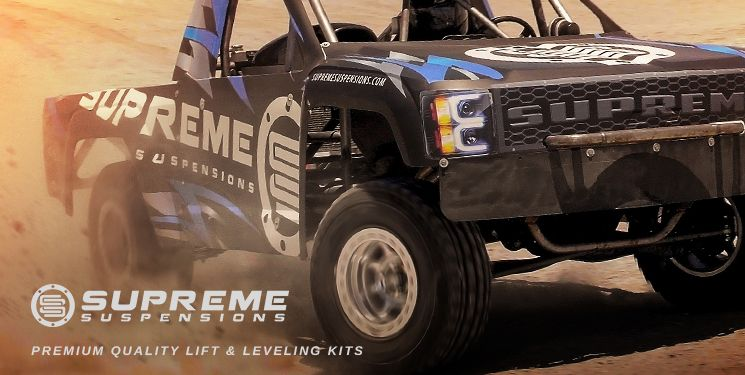 Supreme Off-Road Lift and Leveling Kit