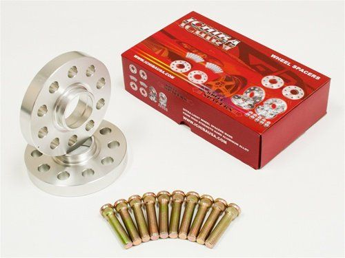ICHIBA V1 10mm HubCentric Wheel Spacers + Studs 5x114 66.2mm Bore 12x1.25 (NS-50210)