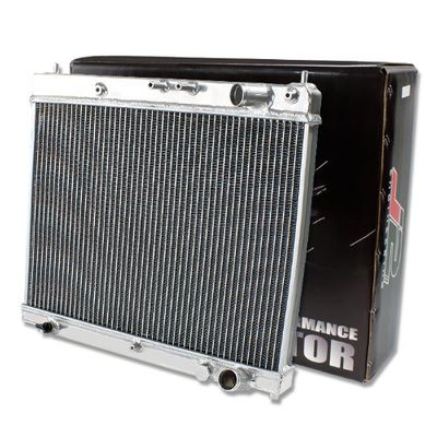 J2 04-07 SCION xB bB/04-06 xA 1NZ 2-ROW POLISHED FULL ALUMINUM RACING RADIATOR