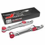 J2 Engineering 92-00 Honda Civic Del Sol CRX / Acura Integra Aluminum Front Lower Control Arm With Bushing - Silver