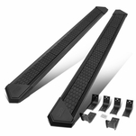 J2 For 09-20 Dodge Ram Truck Crew Cab 8-inch SS Honeycomb Running Boards Black