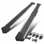 J2 For 2015-2020 Ford F150/F250/F350 Crew Cab 8-inch Wide Stainless Steel Running Boards