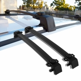 Jeep 17-18 Compass Black Roof Cross Bars Crossbars Rack Luggage Cargo Carrier