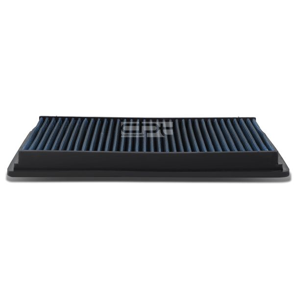 Jeep Commander / Grand Cherokee Reusable & Washable Replacement High Flow Drop-in Air Filter (Blue)