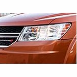 Dodge Journey Replacement Crystal Headlights