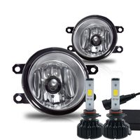 LED Kit + 2006-2008 Toyota Yaris 3Dr Fog Lights -(Clear) - (Wiring Kit Included)