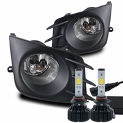 LED Kit + 2011-2013 Scion TC Fog Lights - (Clear) - (Wiring Kit Included)