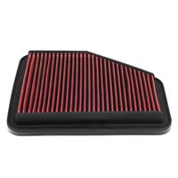 Lexus GS300 / GS430 / GS450h / SC430 Reusable & Washable Replacement Engine High Flow Drop-in Air Filter (Red)