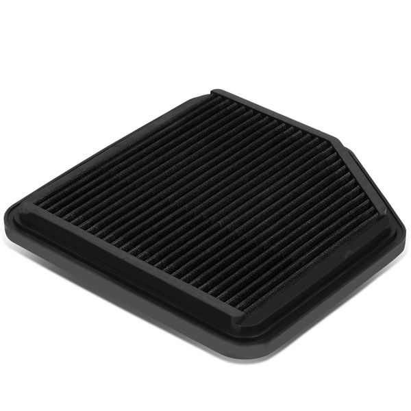 Lexus IS250 / IS350 / GS350 / GS430 Reusable & Washable Replacement High Flow Drop-in Air Filter (Black)