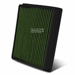 Lexus LX570 / Toyota Land Cruiser Reusable & Washable Replacement High Flow Drop-in Air Filter (Green)