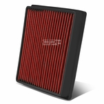 Lexus LX570 / Toyota Land Cruiser Reusable & Washable Replacement High Flow Drop-in Air Filter (Red)