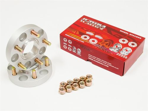 "ICHIBA V2 15mm 19/32"" HUB CENTRIC RIM WHEEL SPACER SPACERS 5x114 67.1 12x1.5"