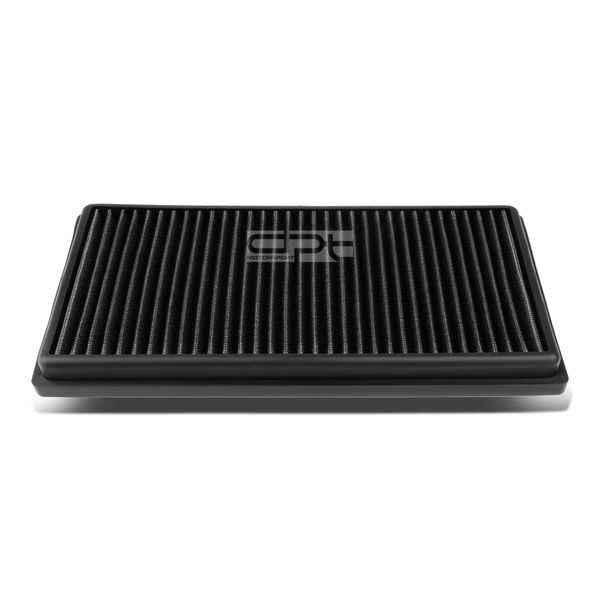 Mercedes Benz - AMG 63 M157 6.3L Reusable & Washable Replacement High Flow Drop-in Air Filter (Black)