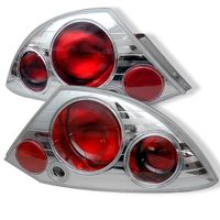 Mitsubishi Eclipse 00-05 Altezza Tail Lights - Chrome ALT-YD-ME00-C By Spyder