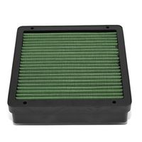 Mitsubishi Lancer / Mirage / Outlander Reusable & Washable Replacement Engine High Flow Drop-in Air Filter (Green)